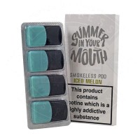 Summer In Your Mouth - Iced Melon Smokeless Pod 4 x 1ml - 20mg