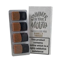 Summer In Your Mouth - Vanilla Tobacco Smokeless Pod 4 x 1ml - 20mg