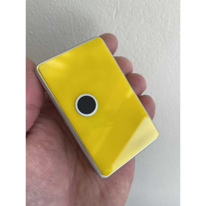 Solid Yellow FLAT acrylic billet box rev4 (mod not included) von Mums Factory