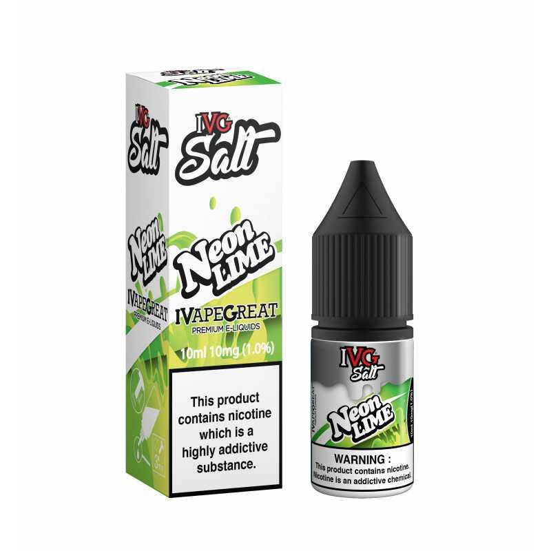 10ml I VG SALT 20 mg Neon Lime