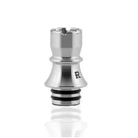 Kizoku Chess 510 Drip Tip Series Schwarz / Edelstahl vers. Ausführungen