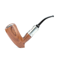Epipe Dublin Rosewood 22mm 18650 - Créavap ink. Drip Tip