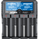 "Xtar VP4 Plus ""Dragon"" - Ladegerät für Li-Ion, Ni-MH und 3s Akkupacks"