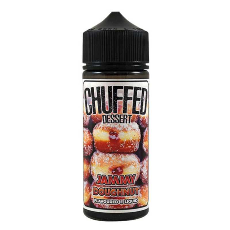 Jammy Doughnut 100ml Shortfill Liquid by Chuffed
