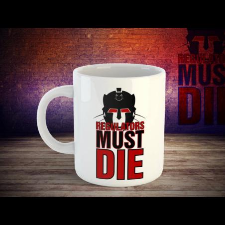 Kaffeetasse Copy Cat - Merchandise Regulator must die
