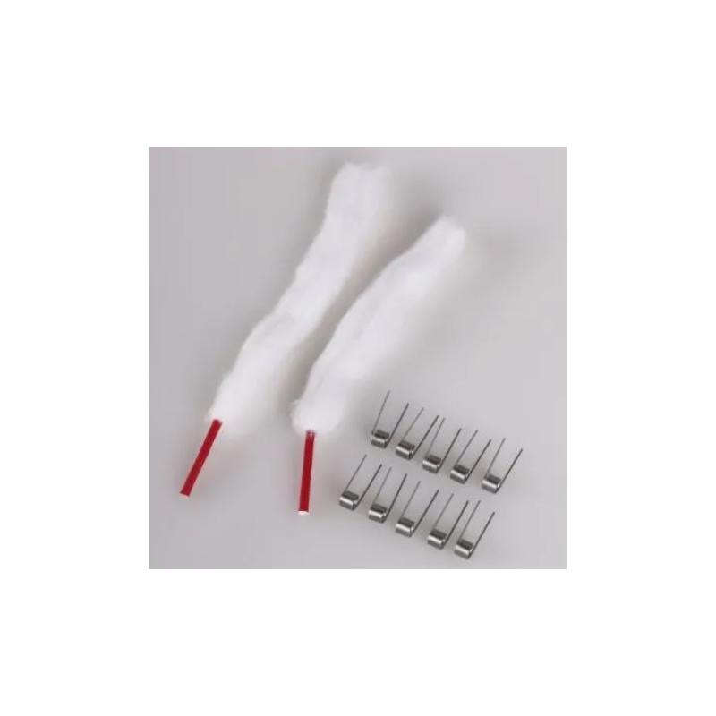 Vapefly TGO Pod Kit 0,6Ohm Coils + Watte