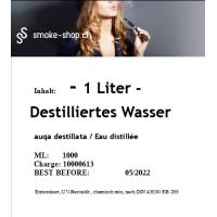 1000 ml (1 Liter) Destilliertes Wasser