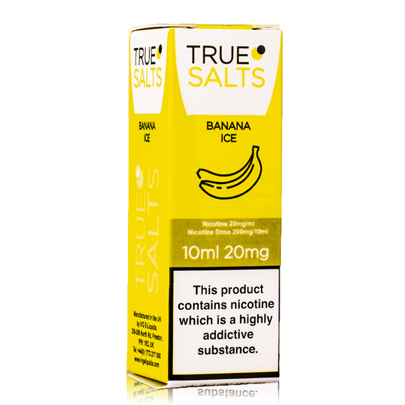 True Salts Banana Ice 10ml - 20mg -