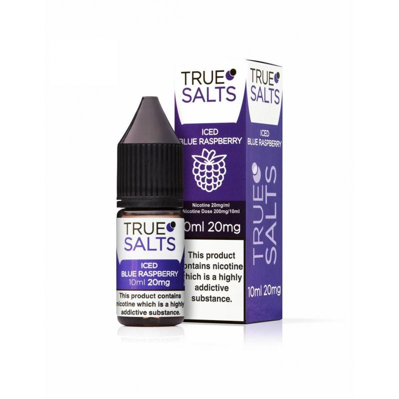 copy of True Salts - Iced Blue Raspberry 10ml - 20mg -