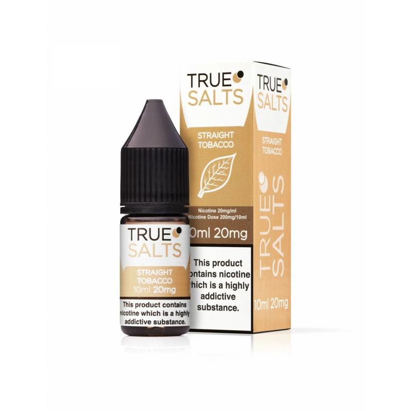 True Salts - Straight Tobacco 10ml - 20mg -