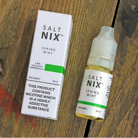 10ml Spring Mint - Salt NIX - 18 mg Nikotin Salz
