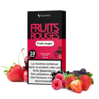 Pods Fruit Rouges 4x1ml Wpod - Nikotin Salz 20mg von Liquideo