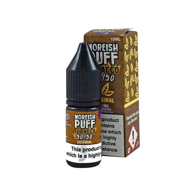 Moreish Puff Tobacco 50/50 Original 10ml - 18mg