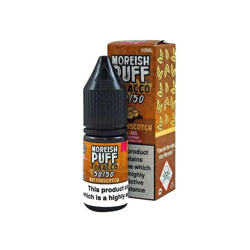 Moreish Puff Tobacco 50/50 Butterscotch 10ml - 18mg