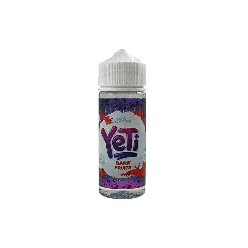 YETI ICE COLD DARK FRUIT 0MG 100ML SHORTFILL