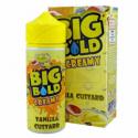 BIG BOLD CREAMY - VANILLE CUSTARD 0MG 100ML SHORTFILL + Beuteltasche
