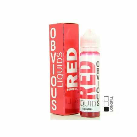 RED von OBVIOUS LIQUIDS 50ML 00MG - Longfill
