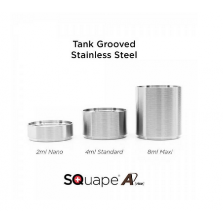 Tank Grooved Edelstahl SQuape A[rise]