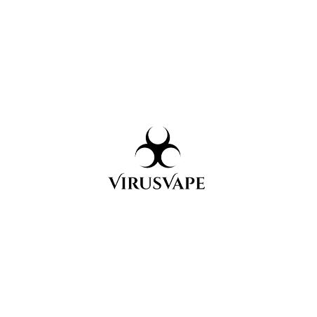Rebecca 0mg 50ml - Virus Vape - Shortfill