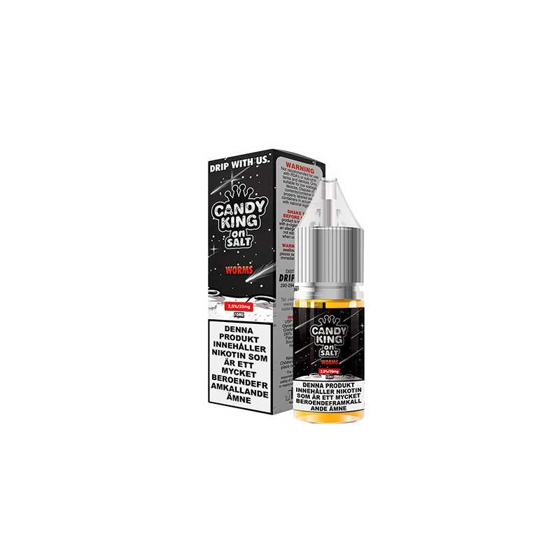 Candy King Salt Worms 10ml - 20mg Nikotinsalz