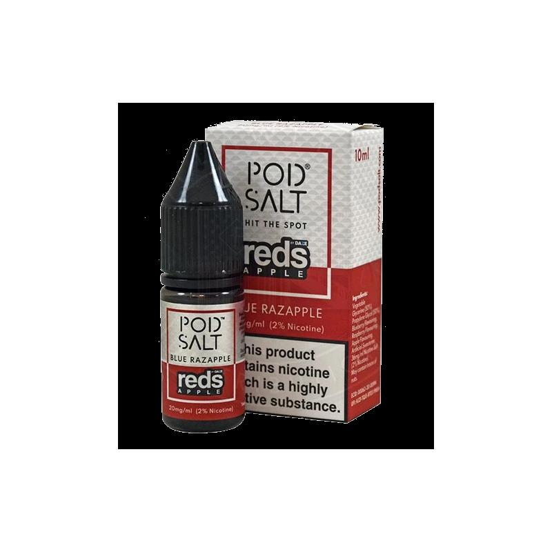 10 ml POD SALT FUSION - Reds Apple -20 mg - Nikotinsalz Liquid
