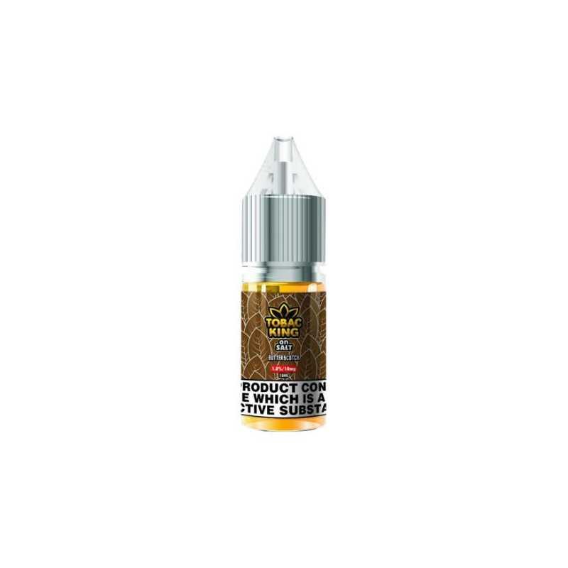 Tobac King Salt Butterscotch 10ml - 20mg