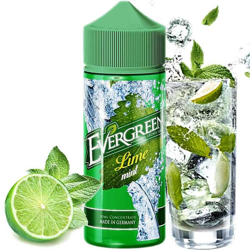 30 ml Evergreen - Lime Mint by Sique Liquid (Shake&Vape) Longfill