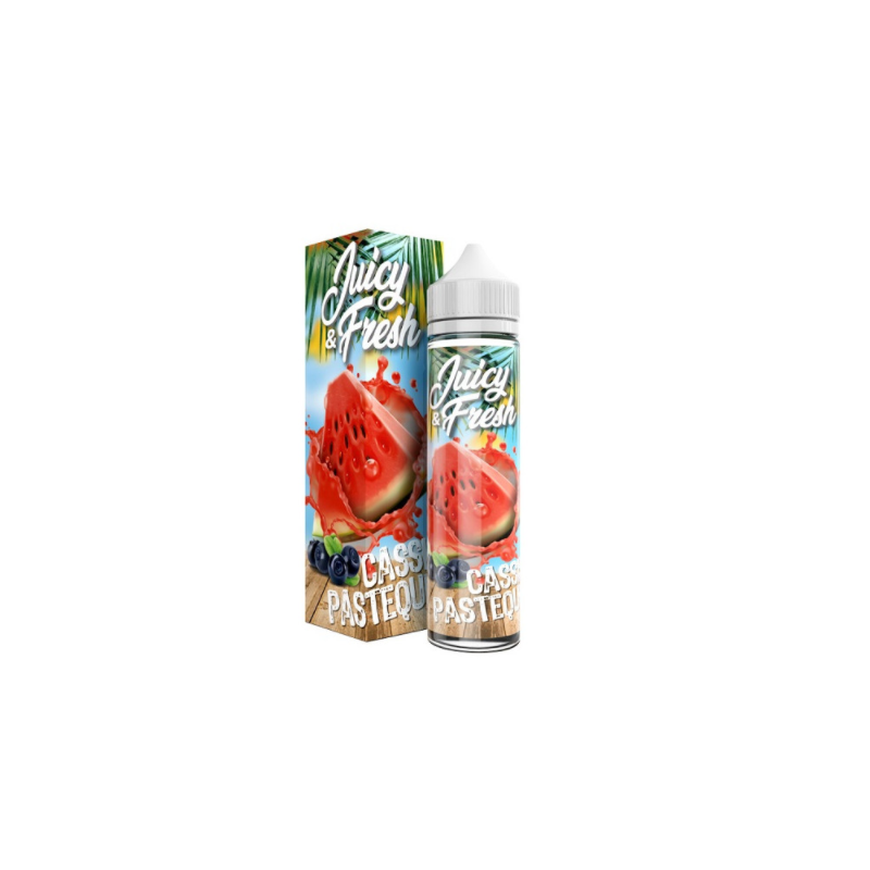 Cassis Pasteque Juicy & Fresh 50ml 00mg