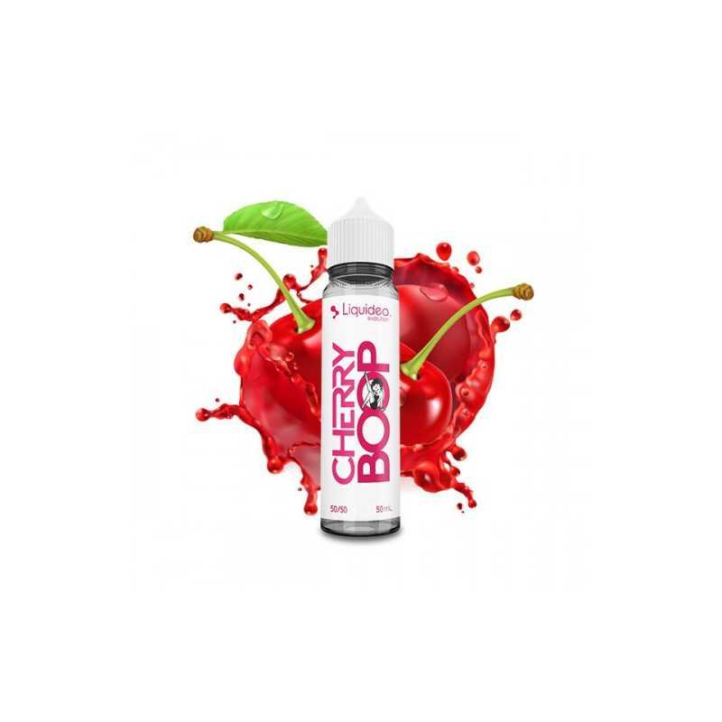 50 ml Cherry Boop -0mg- von Liquideo - shortfill