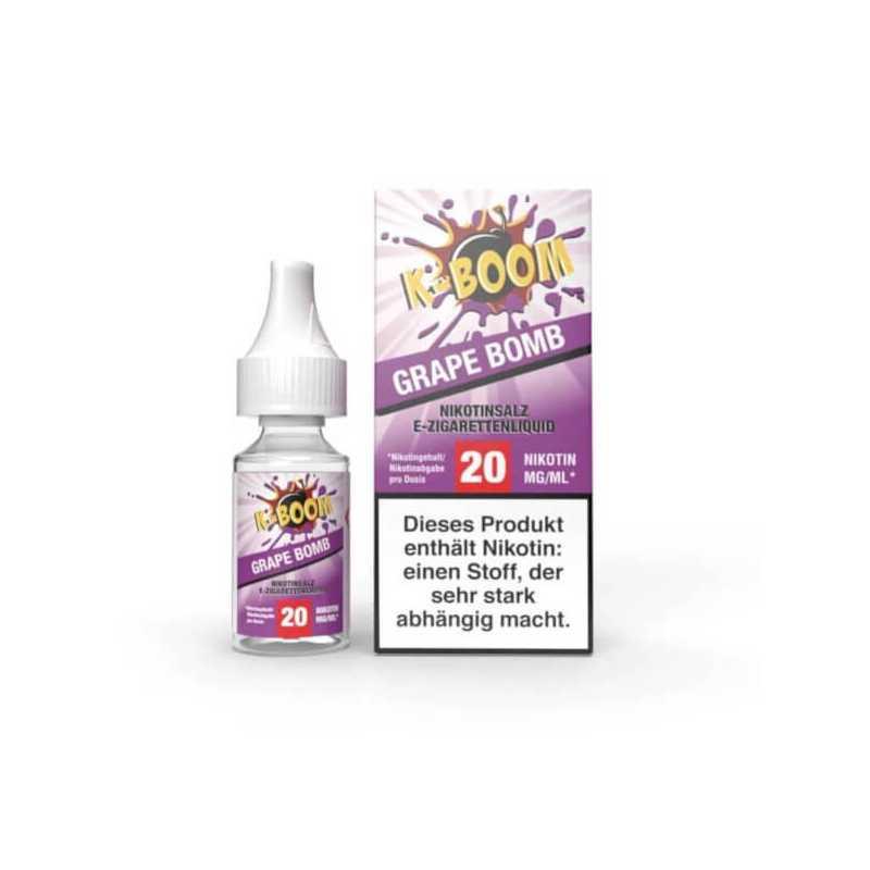 Grape Bomb - NikotinSalz 20mg von K-Boom
