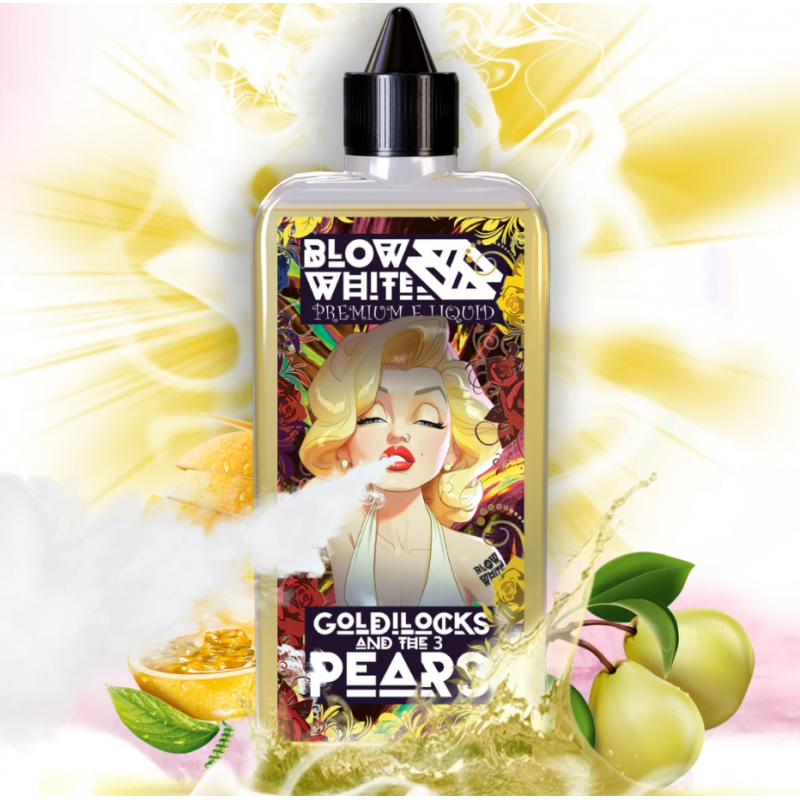 Blow White - Goldilocks and the 3 Pears By Blow White 80ml Shortfill