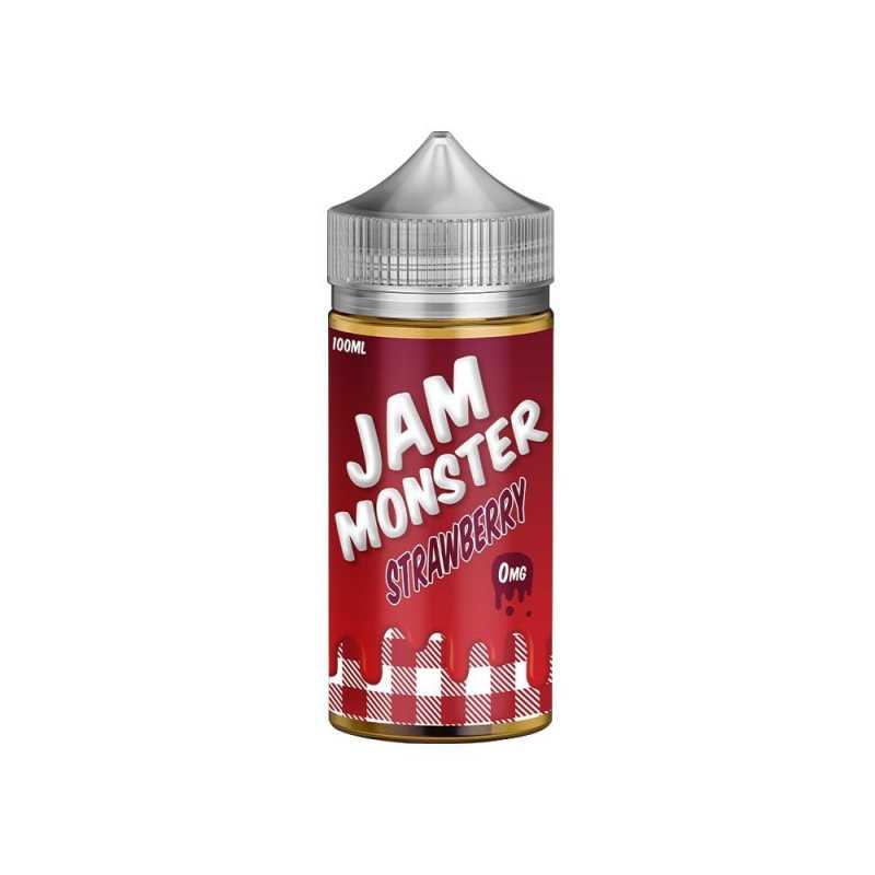 Jam Monster Strawberry 0mg 100ml Shortfill