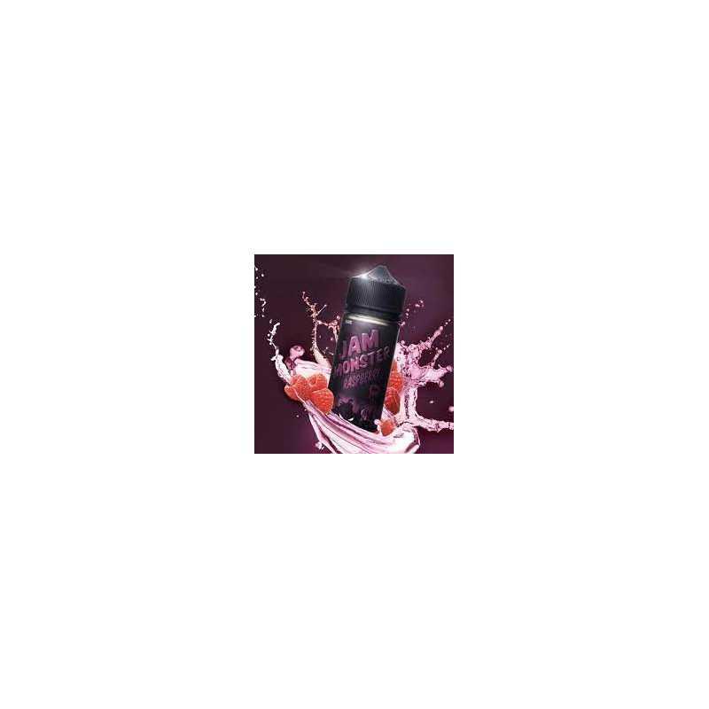 Jam Monster Edition Raspberry 0mg 100ml Shortfill