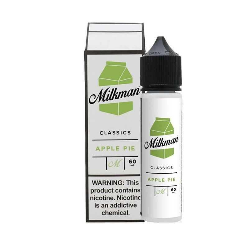 The Milkman Classics Apple Pie 50ml 0mg - shortfill - Vaping Rabbit