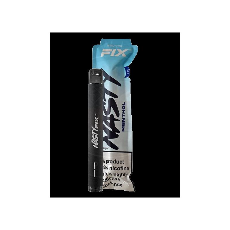 Nasty Juice Salt Nic Fix Version 2 Menthol 2ml - 20mg (nicht aufladbar)