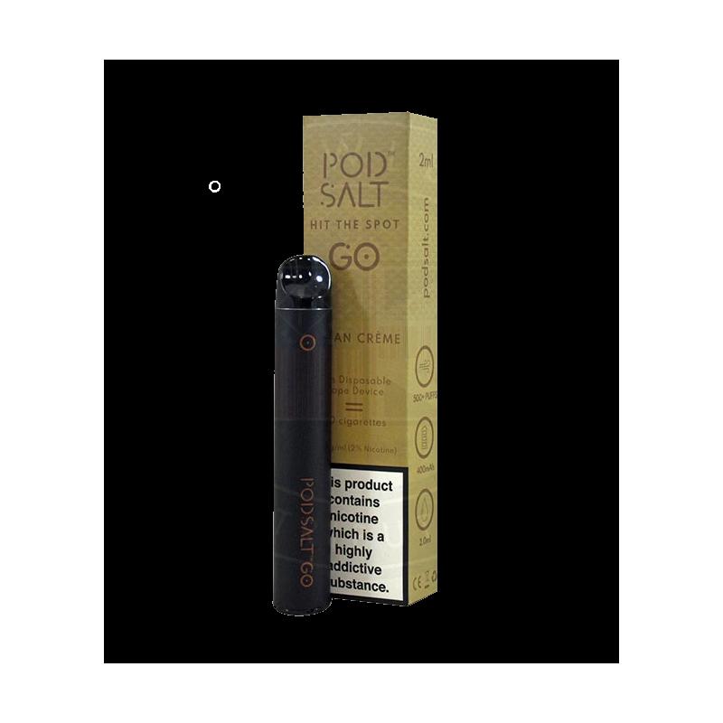 Pod Salt Disposable Vape Device Cuban Creme 20mg/2ml - Einweg Zigarette