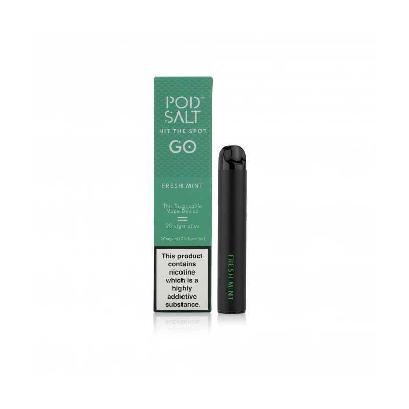 Pod Salt Disposable Vape Device Fresh Mint 20mg/2ml - Einweg Zigarette