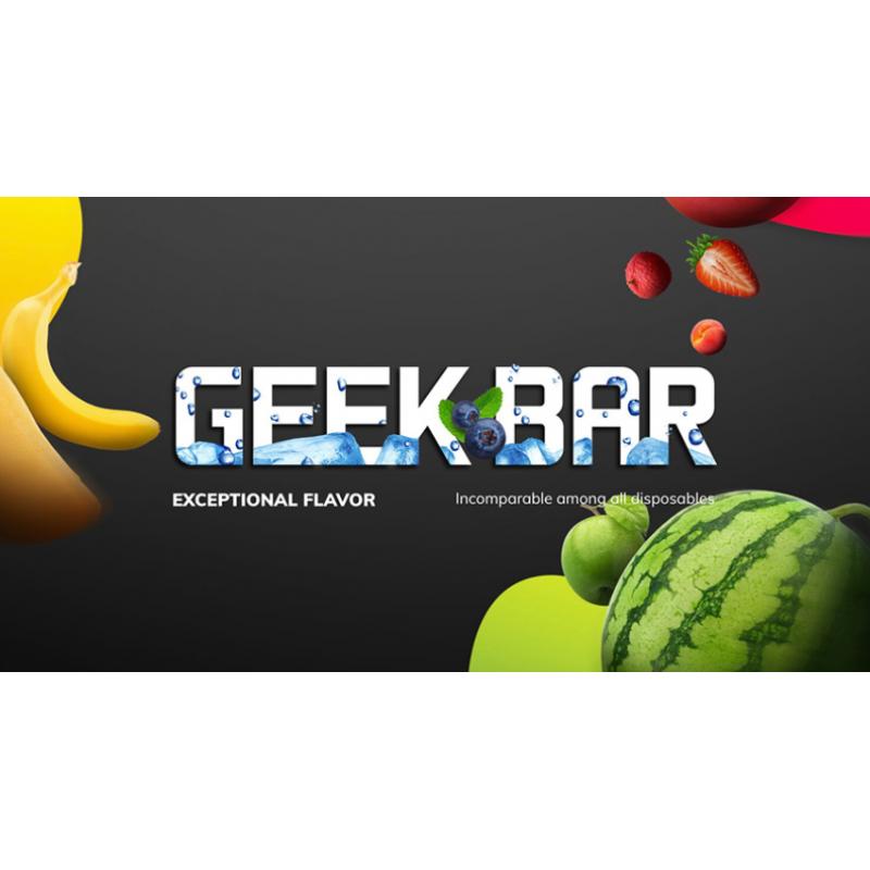 Geek Bar Lite Disposable Vape Mango Strawberry 2% Salt Nic/1.8ml (Einweg E-Zigarette)