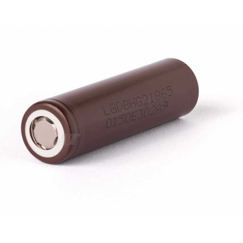 LG INR18650HG2 - 3000mAh 3,6 - 3,7V, 20A HG2 Lithium Ionen Akku
