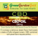 15 ml CBD Erdbeer Vape Base (100 mg) Green Garden Gold