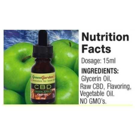 15 ml CBD Blaubeere Vape Base (100 mg) Green Garden Gold