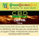 15 ml CBD Blaubeere Vape Base (100 mg) Green Garden Gold