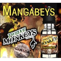 Mangabeys 30ML -Twelve Monkeys 80 VG