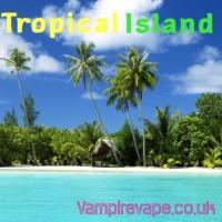 Aroma -Tropical Island - 30 ml von Vampire Vape