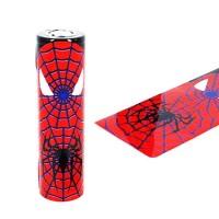 Schrumpfschlauch 18650 Spiderman