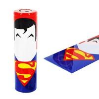 Schrumpfschlauch 18650 Superman
