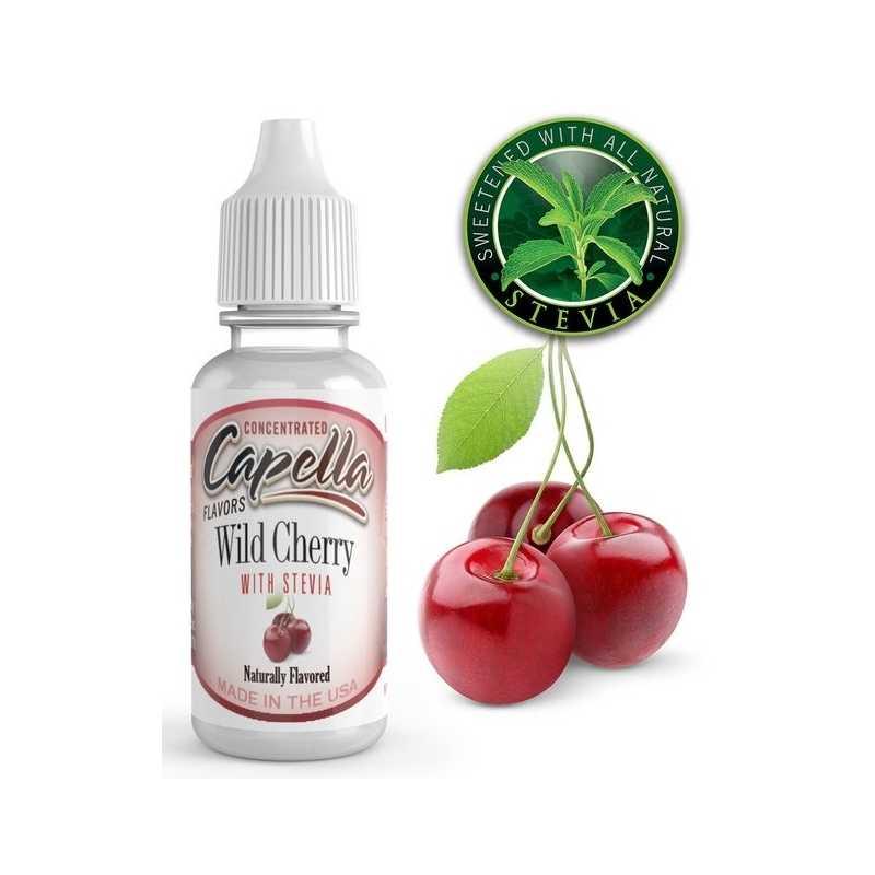 Cherry (Wild) mit Stevia - Capella Aroma 13ml