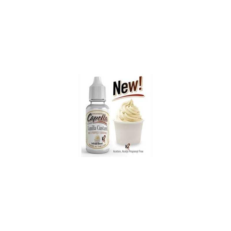 Vanilla Custard V2 - Capella Aroma 13ml