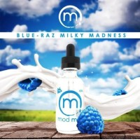 60 ml High Voltage - Blue-Raz Milky Madness