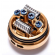 Spezial Wotofo Lush Plus GOLD Edition 25 mm RTA Selbstwickelverdampfer